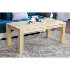 Table basse en bois de pin massif naturel « Junco » 483 – Dimensions: 50 x 120 x 60 cm