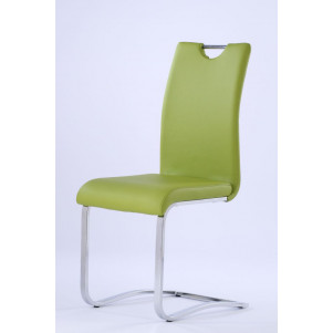 Chaise Maridi 99, Couleur : Vert - Dimension : 102 x 43 x 55 cm (H x l x L)