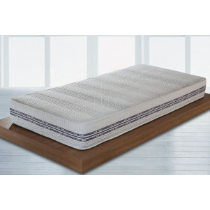 Matelas en mousse froide HR Smart Double, 7 zones - Dimensions : 120 x 200 cm